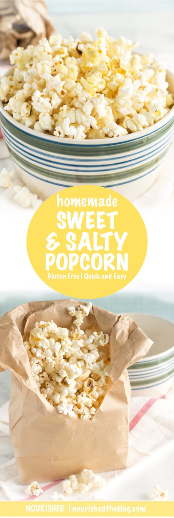 Homemade Sweet and Salty Popcorn Recipe