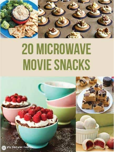 20 of the Best Ever Easy Microwave Movie Snack Recipes