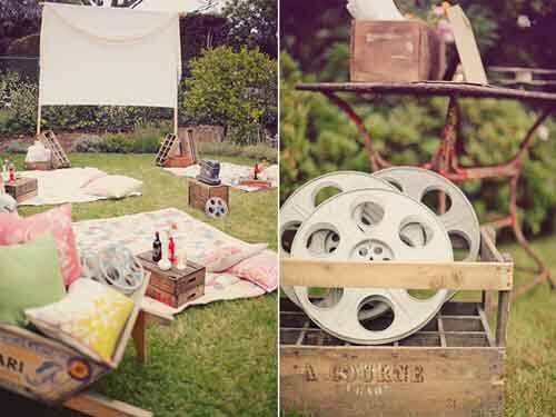 Fun Ideas for An Outdoor Movie Night