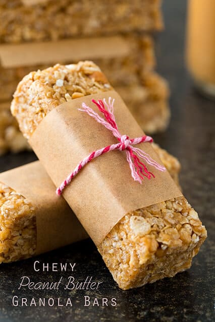 Microwave Peanut Butter Granola Bars Recipe
