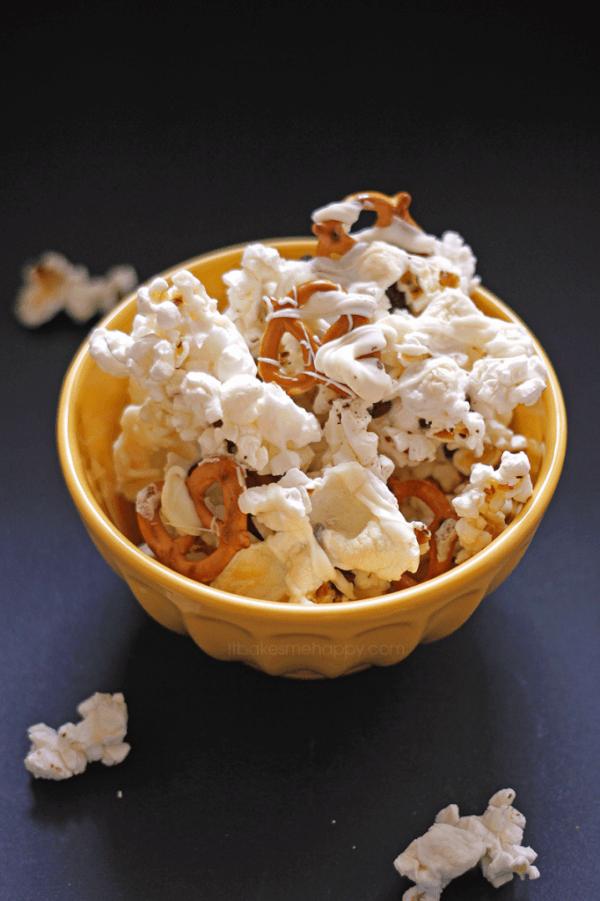 Sweet Indulgence Popcorn Mix Recipe