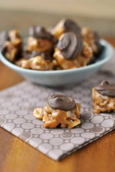 Caramel Nut Clusters Recipe