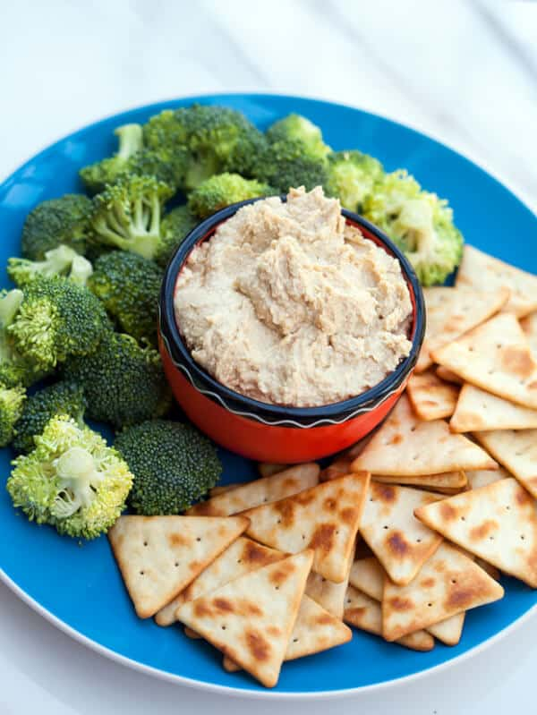 Party Perfect Microwave Hummus Recipe