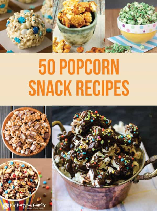 Movie Snacks Ideas - The 50 Best Popcorn Recipes Ever!