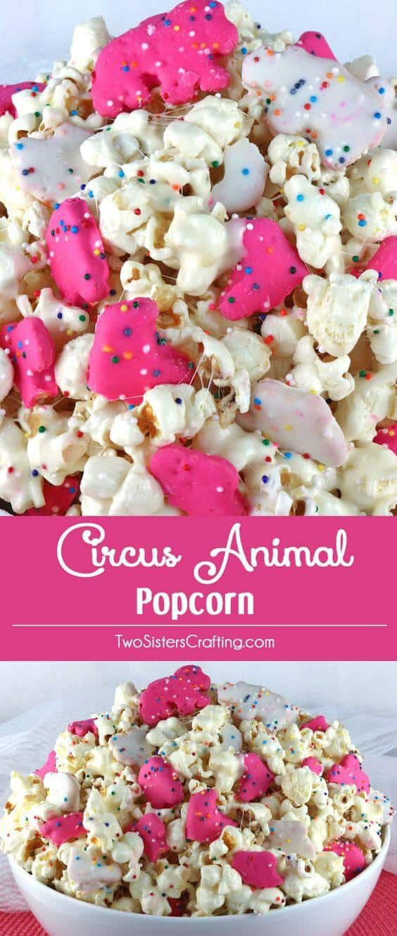 Circus Animal Popcorn Recipe Popcorn Recipes