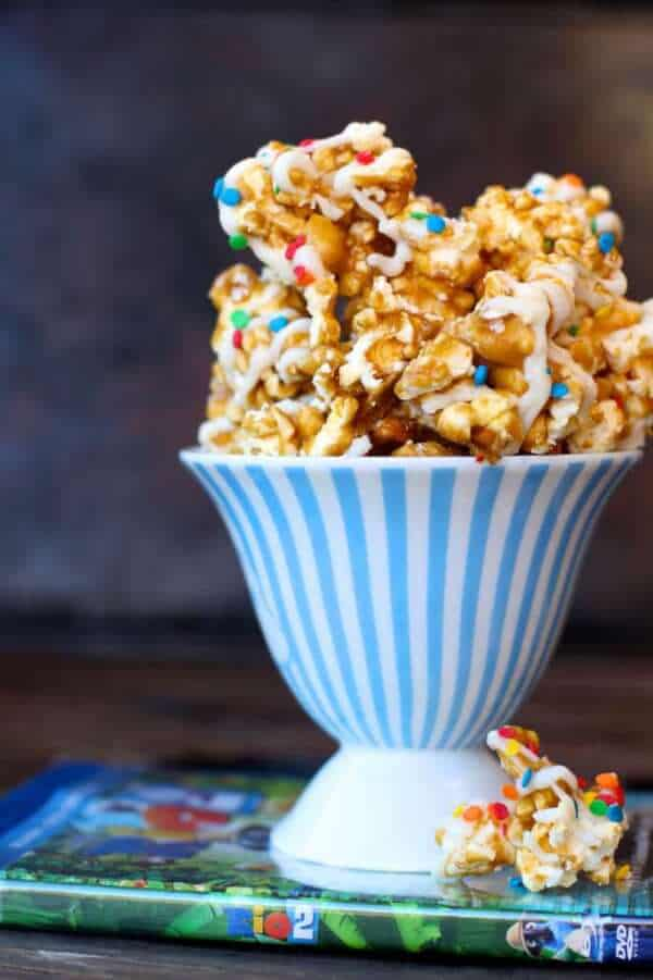 Movie Night Caramel Corn Recipe