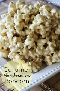Caramel Marshmallow PopcornRecipe