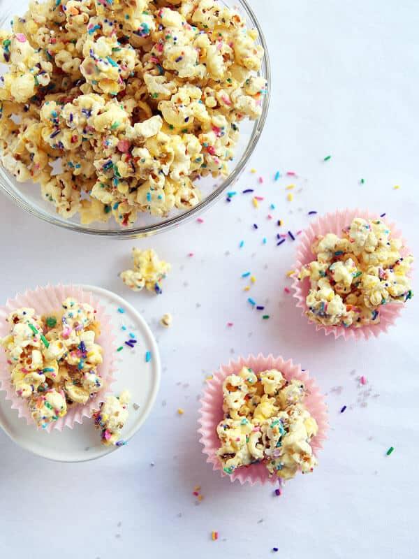 Sparkling Funfetti Popcorn Munch Recipe