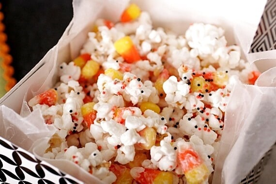 Halloween Popcorn Recipe Popcorn Recipes