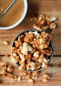 Peanut Butter Butterfingers Popcorn Recipe