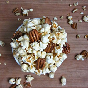 Sea Salt Maple Butter Pecan Popcorn Recipe