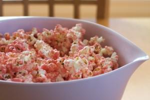 Pretty PrincessPink Party Popcorn Recipe