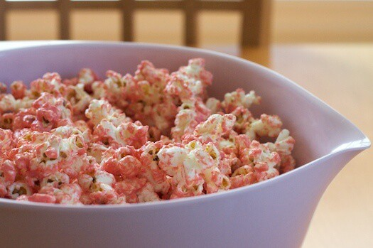 Pretty Princess Pink Party Popcorn Recipe