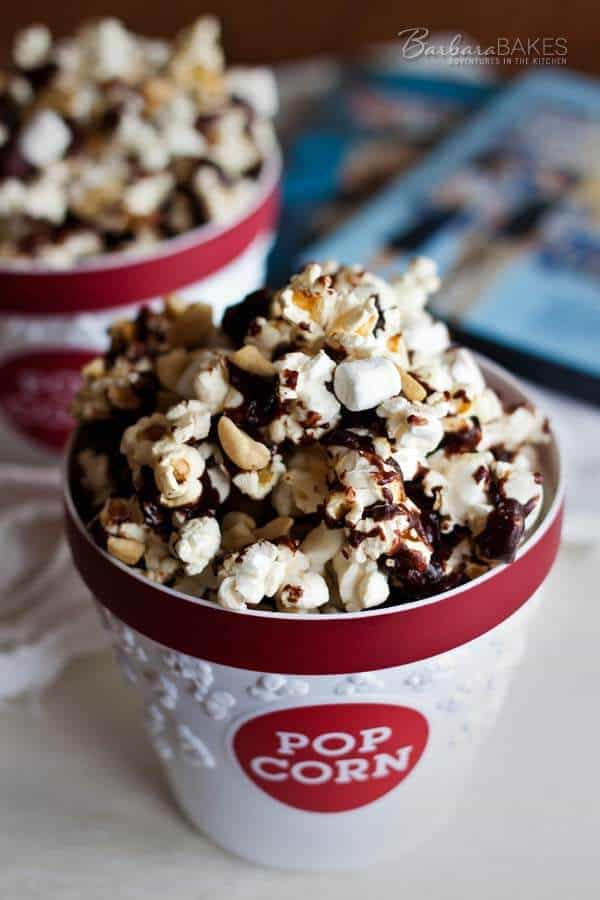 Easy Rocky Road Popcorn Recipe