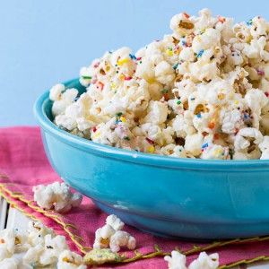 Cake Batter Popcorn Recipe
