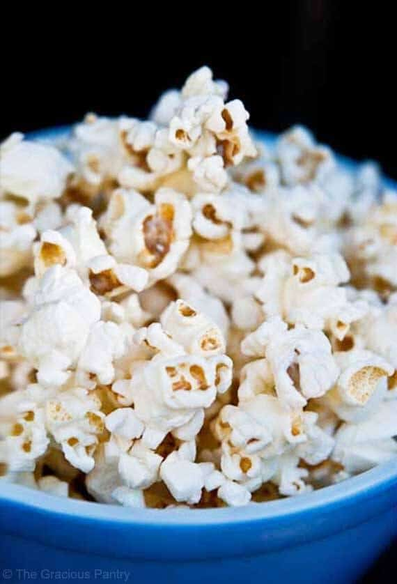 Coconut Oil Popcorn Recipe