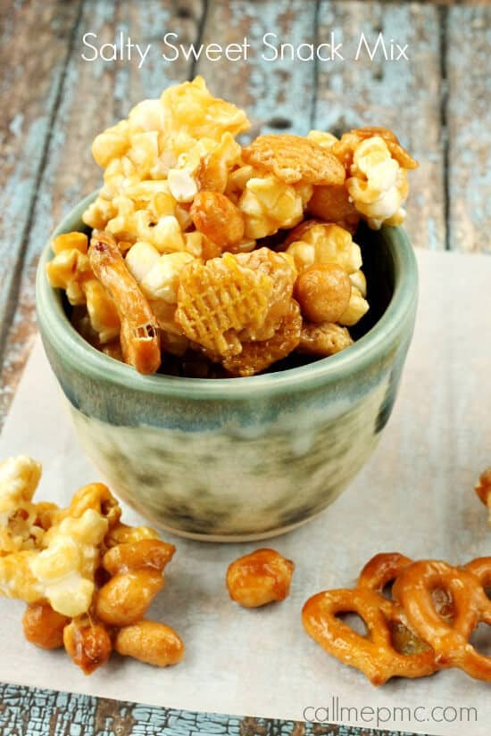 Salty Sweet Caramel Snack Mix Recipe