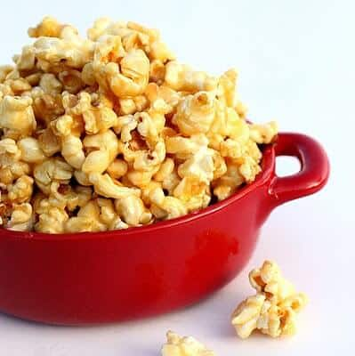 Soft Caramel Popcorn Recipe