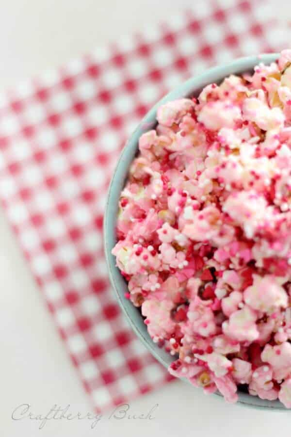 Cotton Candy Popcorn Recipe