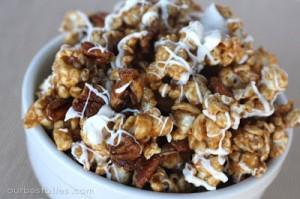 Cinnamon Bun PopcornRecipe