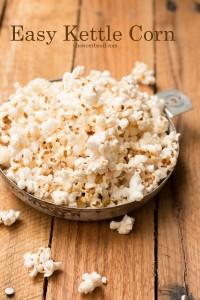 Easy Kettle Corn Recipe