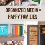 Organized Media = Happy Families