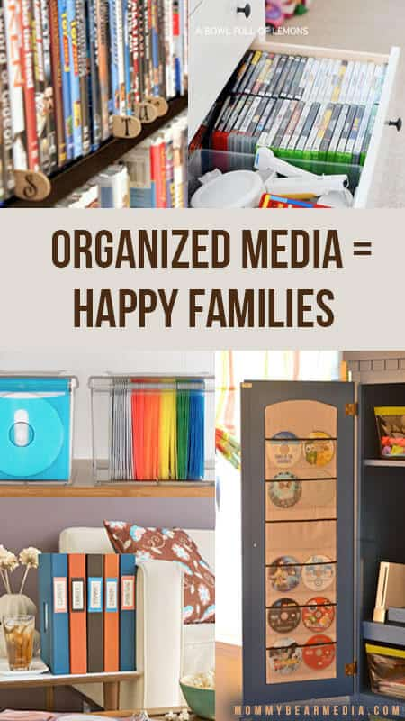 Organized Media = Happy Families