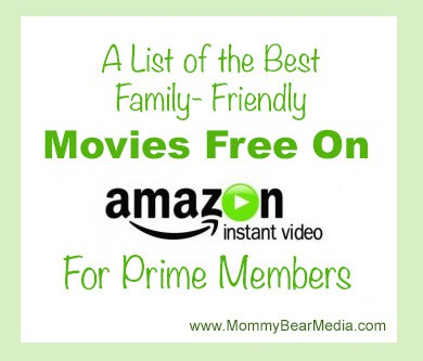 A List of the Best Free Movies on Amazon Instant Video - MommyBearMedia.com