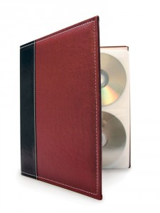 Bellagio-Italia CD DVD Storage Binder