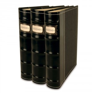 Bellagio-Italia CD DVD Storage Binders-3 Pack