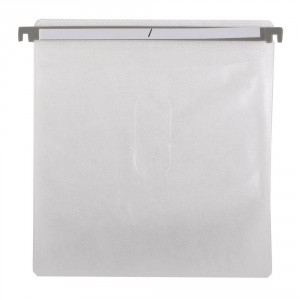 Hanging CD DVD Plastic Refill Sleeves for Aluminum Cases, Media Storage Cases 100pcs