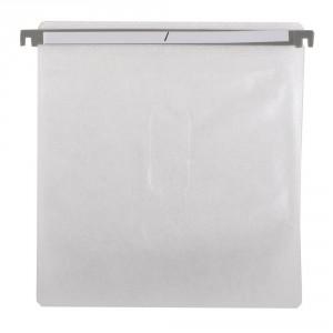 Hanging CD DVD Plastic Refill Sleeves for Aluminum Cases, Media Storage Cases 100pcs