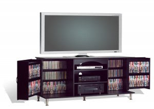 Prepac 60-Inch Plasma TV Console with Media Storage