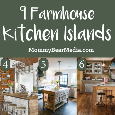 Farmhouse Kitchen Island Ideas