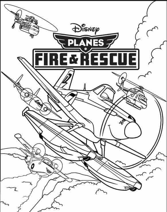 dusty crophopper planes coloring pages okids