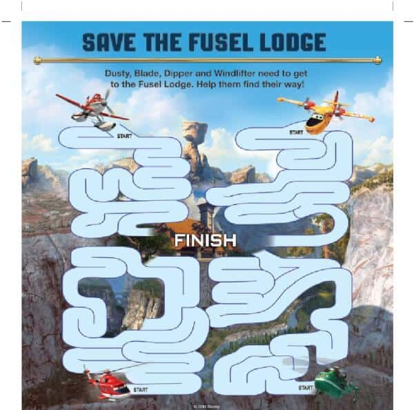 Planes 2 Coloring Page And Activity Sheets PDFs