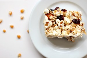 Popcorn Snack Bars Recipe