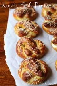 Rustic Soft Pretzels Recipe
