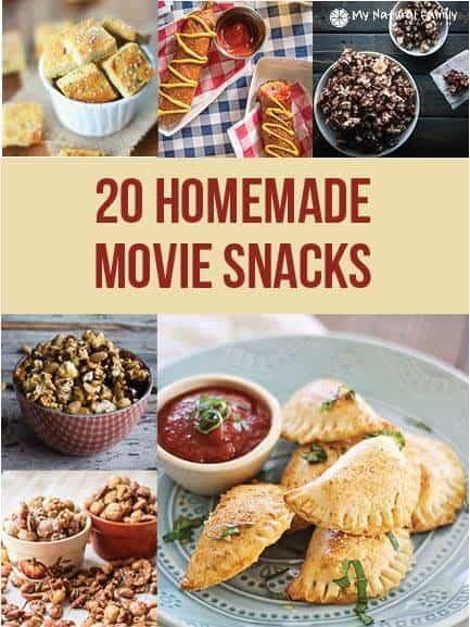 25 Homemade Movie Snack Recipes