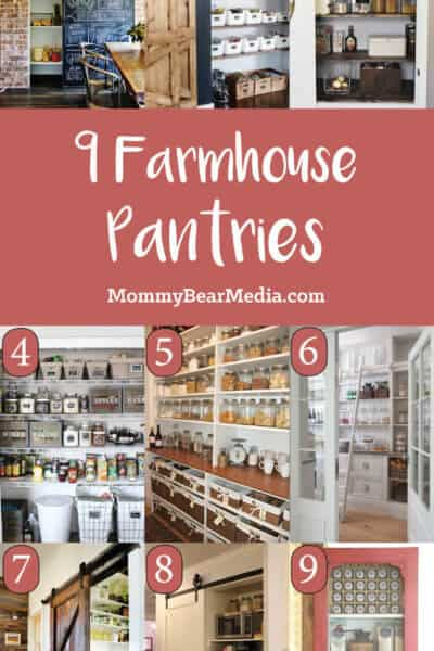 Farmhouse Pantry Ideas