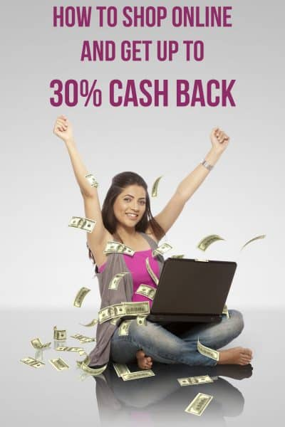 How to shop online and get up to 30% cash cack