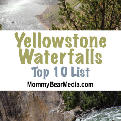 A List of the Very Best Views of Yellowstone Waterfalls