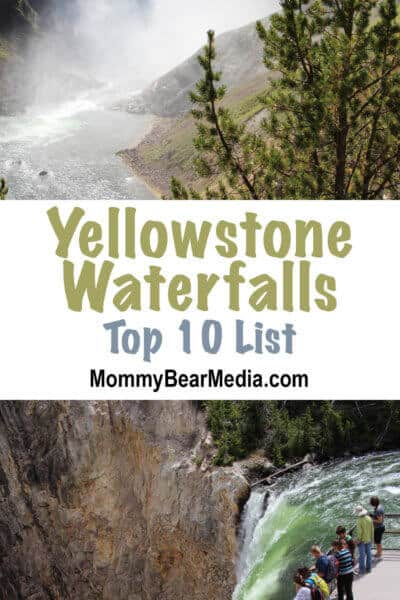 A List of the Best Views of Yellowstone Waterfalls