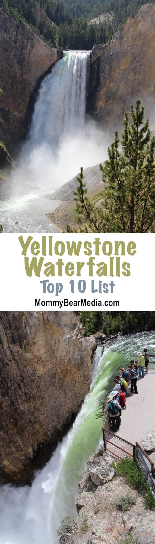 I love this list of the best views of Yellowstone waterfalls because it has several lesser-known places to look at the waterfalls and some waterfalls I haven't heard of. I'm pinning it now so I have it for the next time we go to Yellowstone.