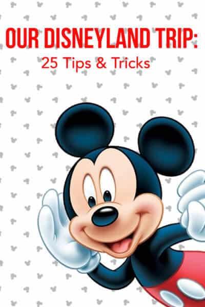 25 Disneyland Tips