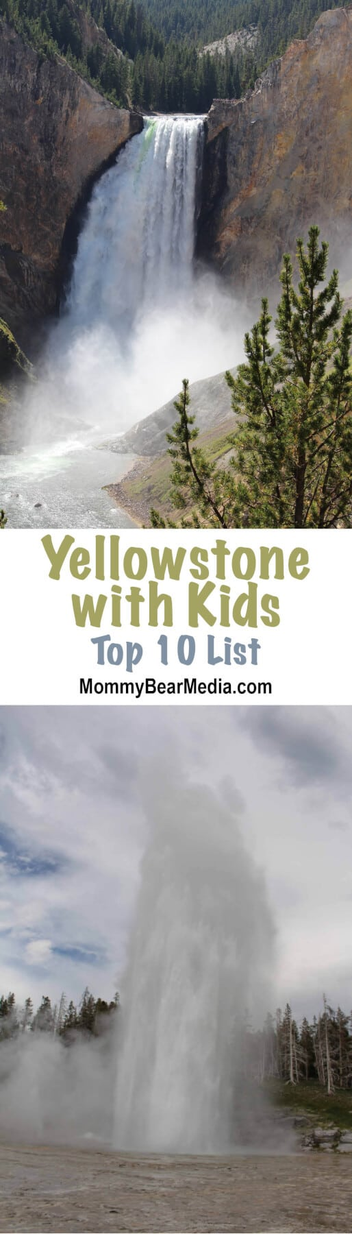 I pinned this so when we go to Yellowstone with kids someday, we can remember all these good places.