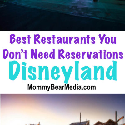 Best Disneyland Restaurants You Do Not Need Reservations For